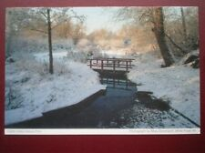 POSTCARD CHESHIRE CALDY VALLEY NATURE PARK IN THE WINTER