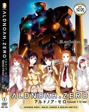 DVD Japan Anime ALDNOAH ZERO Complete Series VOL 1-12 End, Ship FREE English Sub