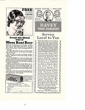 1931 Hires Root Beer Extract Trial Sample 30 Cents Original Magazine Ad