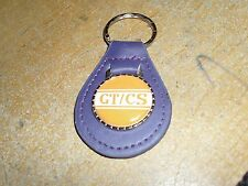 1968 2007 - 2014 FORD MUSTANG SHELBY GT/CS CALIFORNIA SPECIAL KEYCHAIN PURPLE