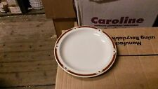 Wood and Sons Balmoral 26cm. (10ins.) Dinner Plates x 2.