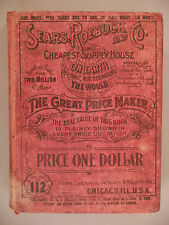 Sears CATALOG #112 - 1902 --- hardcover