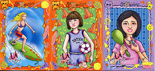 U GO GIRL 2004 LOCASMARTS LLC COMPLETE PROMO CARD SET P-1 TO P-3