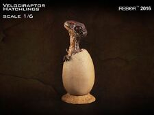 REBOR 1/6 Scale Velociraptor Hatchling Figure dinosaurs - ONE individual model