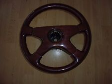 Genuine OBA wood steering wheel. Mercedes, AMG, SL, G-Wagen, W123, 190, CL etc