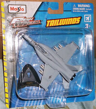 2016 Maisto Tailwinds Boeing F-A-18 Super Hornet USN VFA-122 8+ Diecast China