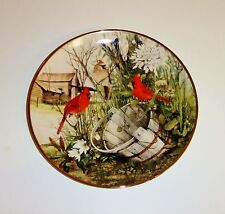 1083~The Franklin Mint The Old Wooden Bucket Limited Edition Collector Plate**