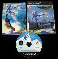ESPN WINTER X-GAMES GAMES SNOWBOARDING Ps2 Versione Italiana ••••• COMPLETO