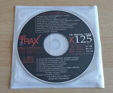 HIT TRAX (STONE TEMPLE PILOTS, MICK JAGGER, ROULA) - CD PROMO COMPILATION