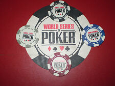 World Series of Poker Chip Set of 4 Las Vegas Rio WSOP 2016 NEW
