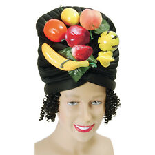 MULTI-COLOUR #FRUIT HAT & HAIR FANCY PARTY COSTUME ACCESSORY