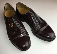 Cole Haan C08331 Brown Leather Cap Toe Dress Formal Oxfords Men's US 10.5D