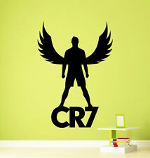 Cristiano Ronaldo CR7 Wall Decal Football Real Vinyl Sticker Decor Mural (429n)