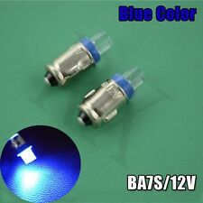 4pcs  BLUE DC12V T2 Lamps LED Car Light Mini Auto LED Dashboard Gauge Bulb BA7S