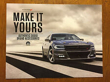 Authentic Dodge Charger Accessories brochure/pamphlet
