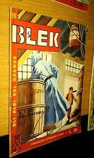 GLI ALBI DEL GRANDE BLEK #  89-BLEK LE ROC -LIBRETTO-ORIGINALE-1965