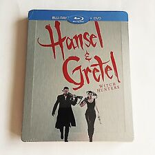 Hansel & Gretel Witch Hunters Blu-Ray Steelbook [France] FNAC Edition! NEW!