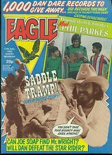 EAGLE British weekly comic book July 17, 1982 VG+ Chris Evert-Lloyd back cover