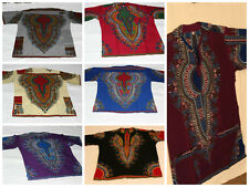 Authentic Handmade Henley type African Men Shirts Made in Ghana All Sizes (S-XL)