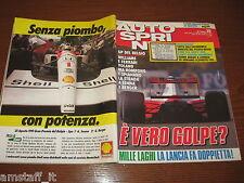 AUTOSPRINT 1991/35=COVER AYRTON SENNA + PUBBLICITA' MONTE SHELL=
