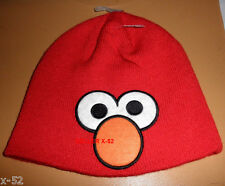 ELMO red BEENIE HOODIE hat Sesame Street OFFICIAL clothes
