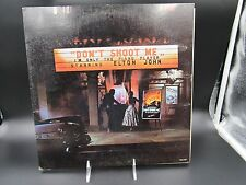 ORIGINAL ELTON JOHN DONT SHOOT ME IM ONLY THE PIANO PLAYER 1972 LP WITH BOOKLET