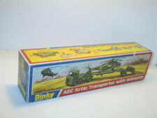 n80, Boite PORTE HELICOPTERE AEC , militaire repro DINKY TOYS ref618