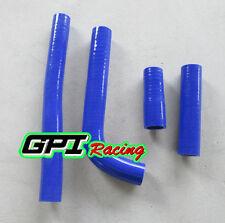 Silicone Radiator Hose for YAMAHA YZ400F/WR400F/YZ426F/WR426F 1998-2002 BLUE