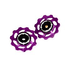 Hope 11T Jockey Wheels - Purple CNC Aluminium