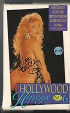 Nina Hartley Adult Film Star Pornstar Autographed/Signed Vintage signed VHS Box