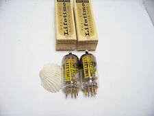 2 Realistic GOLD PIN 6X8 A Vtg Stereo Amp Set Pair Vacuum Tube Part NOS NIB