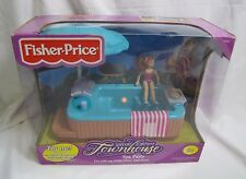 NEW Fisher Price Loving Family Dollhouse SPECIAL EDITION TOWNHOUSE SPA PARTY '00