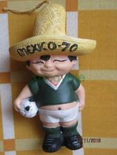 1970 MEXICO IX SOCCER WORLD CUP JUANITO MASCOT FOOTBALL MEXICAN VINYL FIGURE NR!
