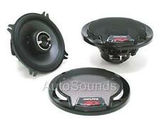 "Alpine Type R SPR-50 270 Watts 5.25"" 2-Way Coaxial Car Audio Speakers 5-1/4"""