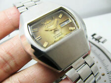 RARE ORIENT TV DIAL MOP MOTHER OF PEARL WORKING AUTOMATIC GENTS.