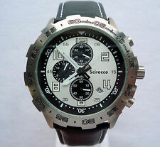Volkswagen VW Mens Scirocco R GTS Motorsport Racing Collection Watch Chronograph