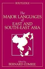Major Languages of East and South-East Asia (1990, Paperback)