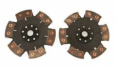 QSC VW Dune Buggy Baja 228mm 6 Puck Ceramic Twin Clutch Disc