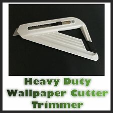 UK Made Heavy Duty Wallpaper Wall Paper Cutter Trimmer Edger DIY Decorating New
