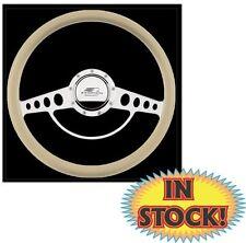 """Billet Specialties Classic 15-1/2"""" Half Wrap Steering Wheel Only 34725"""