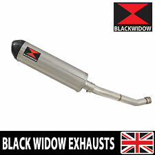 GSX-R600 GSXR600 06 07 K6 K7 De Cat Exhaust Silencer Stainless Carbon Tip 400ST