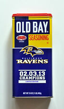 Baltimore Ravens Old Bay Seasoning Superbowl Champions Limited Edition, NEW