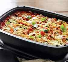Tupperware UltraPro Lasagna Pan & Cover Freezer & Oven Safe 3.5qt Ovenworks New