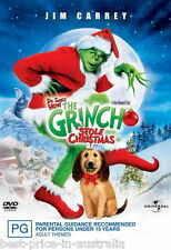 DR. SEUSS' How THE GRINCH Stole Christmas DVD CHRISTMAS MOVIE BRAND NEW R4