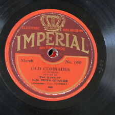 78rpm BAND OF IRISH GUARDS old comrades / voice of the guns IMPERIAL 1950