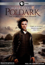 Poldark The Complete First Season (DVD, 2015, 3-Disc Set)  FREE SHIPPING
