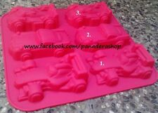 Sports Race Car Silicon Rubber Soap Cake Jelly Chocolate Mold Molder