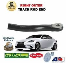 FOR LEXUS IS250 IS300H HYBRID 2013-  NEW RIGHT OUTER STEERING TIE TRACK ROD END