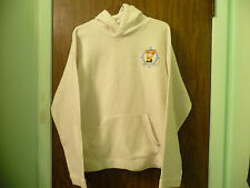 DISNEY TIGGER LIGHT YELLOW PULLOVER HOODIE XL GOOD CONDITION
