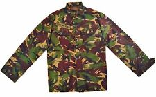 British Military Woodland DPM Camo Field Shirt- Used, 180/96 (Medium-Regular)